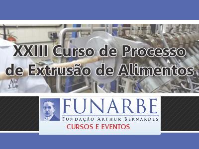 Embrapa realiza XXIII curso de Processo de Extrusão de Alimentos